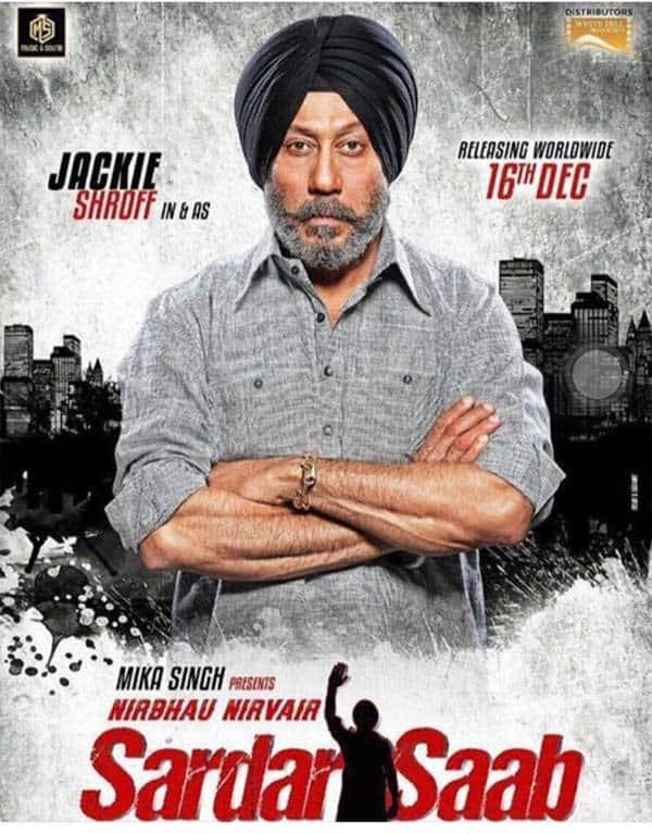 Jackie Shroff looks intense on Sardar Saab movie poster – view pic!