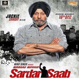 Jackie Shroff looks intense on Sardar Saab movie poster - view pic!