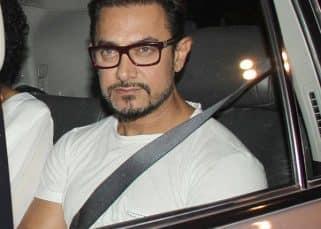 Aamir Khan FLAUNTS his Secret Superstar look with wife Kiran Rao! - view HQ pics!