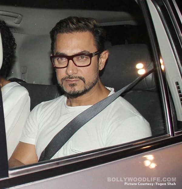 Aamir Khan FLAUNTS his Secret Superstar look with wife Kiran Rao! – view HQ pics!