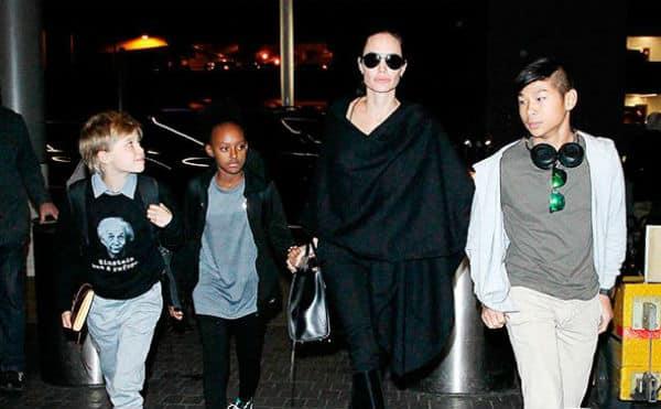 Angelina Jolie escapes to a SECRET destination with kids amidst divorce fuss with Brad Pitt!