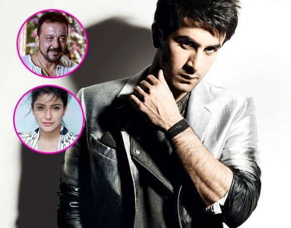 Anushka turns scribebiographer for Ranbir, to star in Sanjay Dutt's biopic!