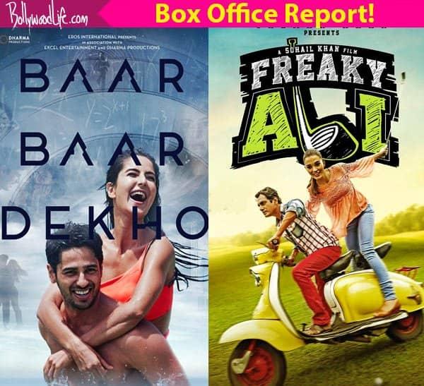 Katrina Kaif's Baar Baar Dekho BEATS Nawazuddin Siddiqui's Freaky Ali at the box office on day one!
