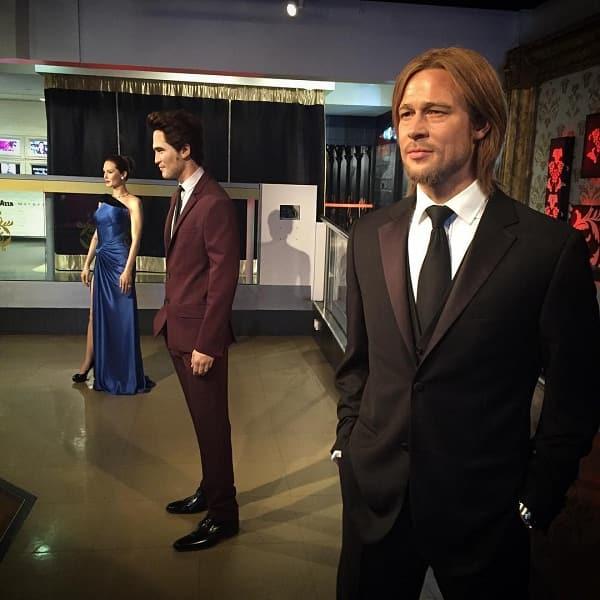 Madame Tussaud's team separated Angelina and Brad Pitt Wax statue