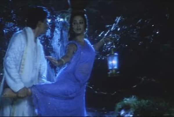 Who paid Shah Rukh Khan and Aishwarya Rai Bachchan's Devdas a sensuous tribute on TV?