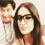 Illeana D'Cruz posts an adorable throwback picture with Jackie Chan.