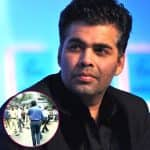 JUST IN! MNS workers protest outside Karan Johar's residence -view pic