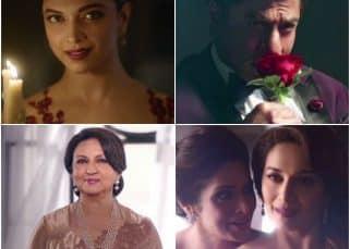 This Shah Rukh Khan video with Deepika Padukone, Madhuri Dixit and Sridevi fails to make us feel anything!