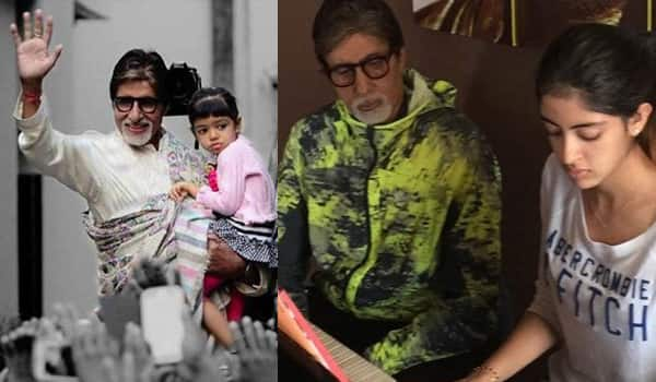 Amitabh Bachchan's heartfelt letter to granddaughters Aaradhya and Navya Naveli is what we all should be telling the women in our lives!