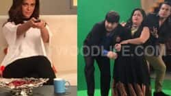 Check out the EXCLUSIVE pictures from Mona Singh, Krushna Abhishek and Bharti Singh's Comedy Nights Bachao 2 promo shoot!