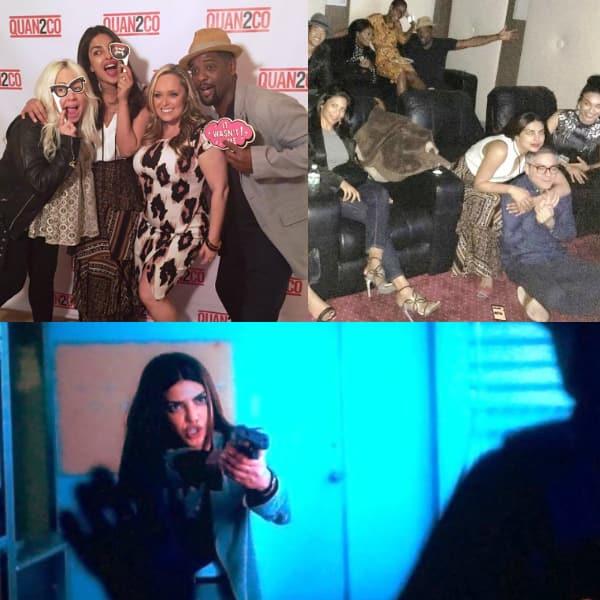 Here how Priyanka Chopra is celebrating the premiere of Quantico season 2 – view pics!