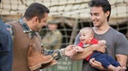 Salman Khan playing with Ahil on sets of Tubelight is the best thing you will see today!