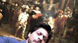 Shah Rukh Khan's latest selfie from Amsterdam will take you back in time!