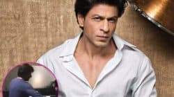 Shah Rukh Khan plays ping pong with a German journalist and loses badly! Watch video
