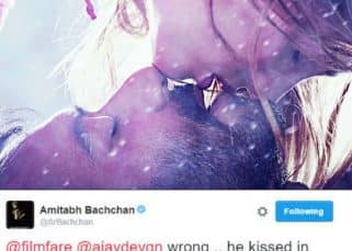 Did Amitabh Bachchan call out Ajay Devgn's bluff about first onscreen kiss in Shivaay?