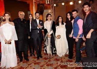 Anil Kapoor, Sonam Kapoor, Sridevi launched the music of Harshvardhan Kapoor and Saiyami Kher's Mirzya making it a family affair - view HQ pics