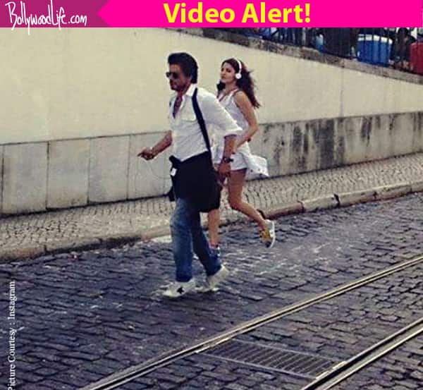 Shah Rukh Khan and Anushka Sharma's CHEMISTRY on The Ring sets will make your wait difficult – watch video!