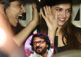 Deepika Padukone's expression after meeting Bhansali reveals the current state of Padmavati - view HQ pics!