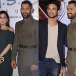 Mahendra Singh Dhoni and his wife Sakshi grace the MS Dhoni -The Untold Story premiere - view HQ pics!