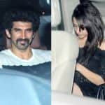 Shraddha Kapoor and ex beau Aditya Roy Kapur spotted at Shaad Ali's party - view HQ pics