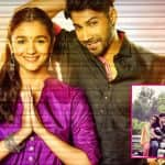 Varun Dhawan and Alia Bhatt wrap up the second schedule of Badrinath Ki Dulhania in style - view pic!