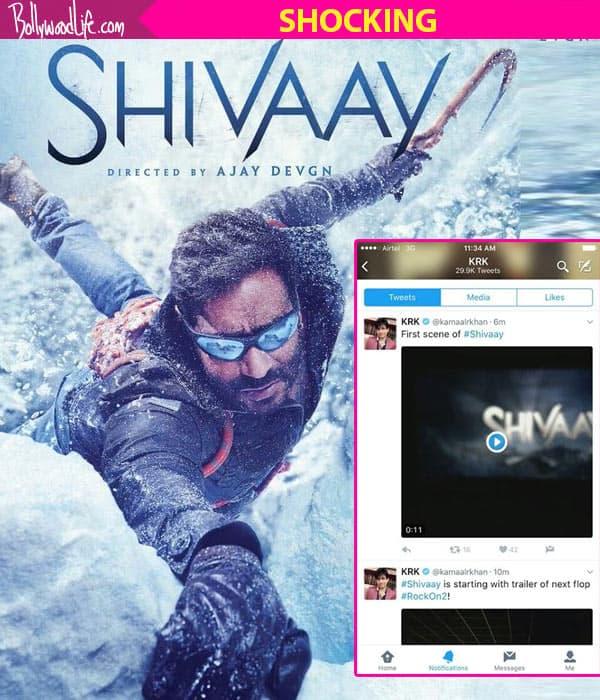 Ajay Devgn's Shivaay LEAKED, courtesy Kamaal R Khan!