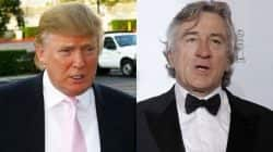 Robert De Niro wants to punch Donald Trump in the face