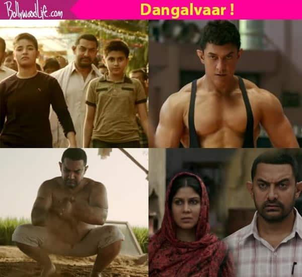 Dangal Trailer Review Aamir Khan Is Back With A Bang In This Highly