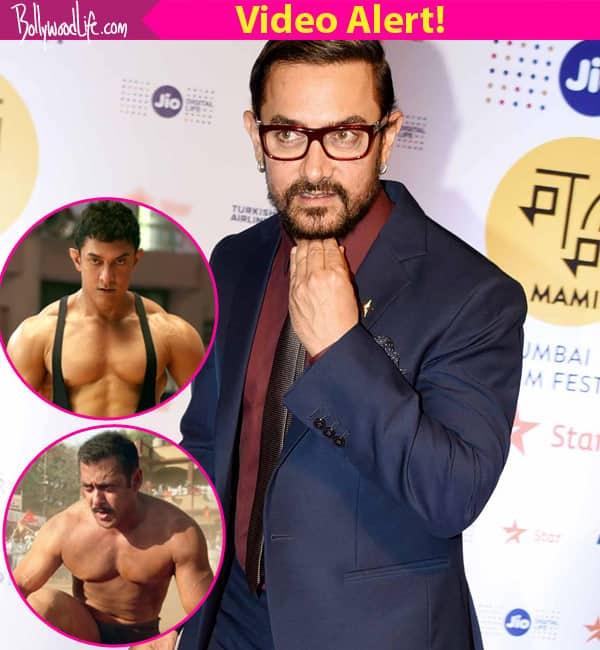 Aamir Khan has a kickass answer on Dangal's comparison with Salman Khan's Sultan- watch video