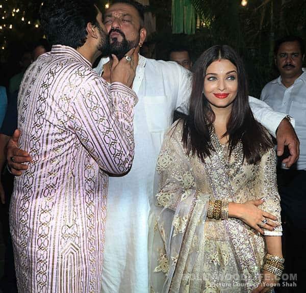 Abhishek Bachchan and Sanjay Dutt's bromance at Big B's Diwali bash was too endearing – view HQ pics