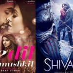Ae Dil Hai Mushkil vs Shivaay: Here's why first Monday will be big for Ajay Devgn and Ranbir Kapoor's film