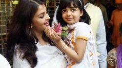 Aaradhya had a gala time attending Durga pooja with Aishwarya and Abhishek – view HQ pics
