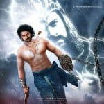Baahubali 2 first look out! Prabhas STRIKES like a lightening from a thundering night