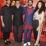Amitabh Bachchan, Raveena Tandon, Waheeda Rehman turn in for Harshvardhan Kapoor and Saiyami Kher's Mirzya screening
