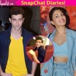 Hrithik Roshan becomes the victim of Jacqueline Fernandez's snapchat addiction - watch video