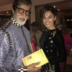 Look what Amitabh Bachchan got as a birthday gift from his Pink co-star Taapsee Pannu