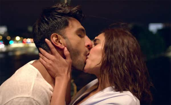 Image result for ranvir singh kissing scene