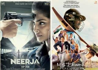 Sushant Singh Rajput's MS Dhoni: The Untold Story or Sonam Kapoor's Neerja - which 2016 movie is the better biopic?