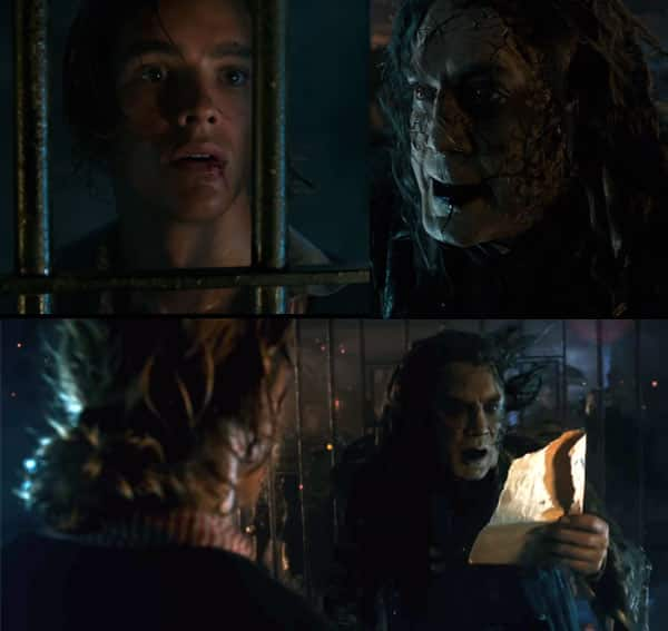 Pirates of the Caribbean: Dead Men Tell No Tales teaser: Johnny Depp's Jack Sparrow has a new enemy and he is SUPER CREEPY!
