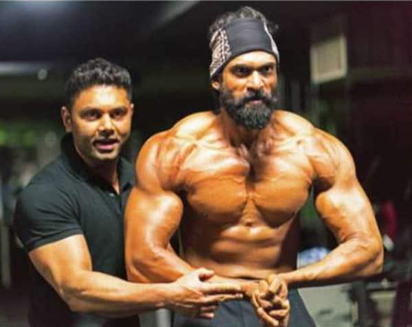 Check out Rana Daggubati's physique transformation for Bahubali 2!