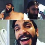 Ranveer Singh taking a HOT SHOWER is the most filmy thing you will watch on the internet today!