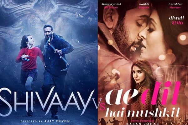 5 reasons why Ajay Devgn's Shivaay will fare better than Ranbir Kapoor's Ae Dil Hai Mushkil!
