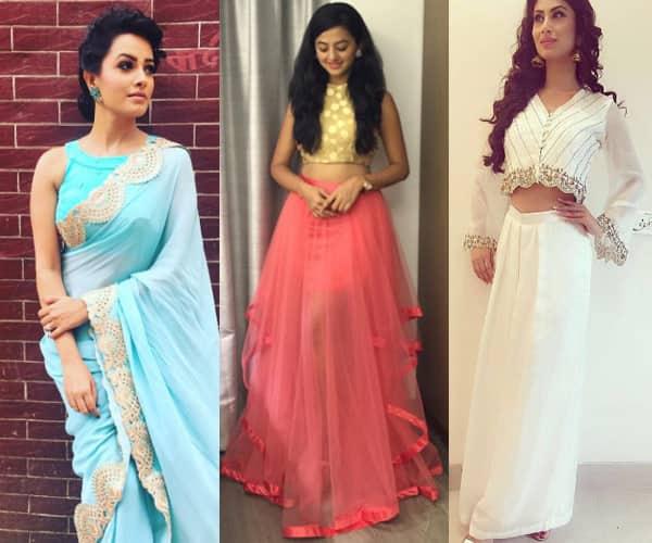 Mouni Roy, Anita Hassanandani, Helly Shah teach you to celebrate Diwali in style