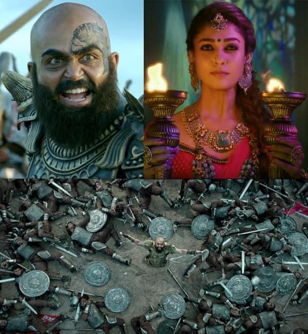 5 visual moments from Karthi-Nayanthara's Kaashmora trailer that remind you of Baahubali-view pics