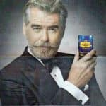 Pierce Brosnan moves from classy Martini to trashy pan masala; leaves Twitteratti with a bad taste!