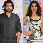 Baahubali 2 first look launch: Tamannaah Bhatia and Prabhas follow the black and white code in style