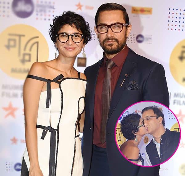 Aamir Khan's wife Kiran Rao and Vidhu Vinod Chopra caught in an awkward moment – view pic