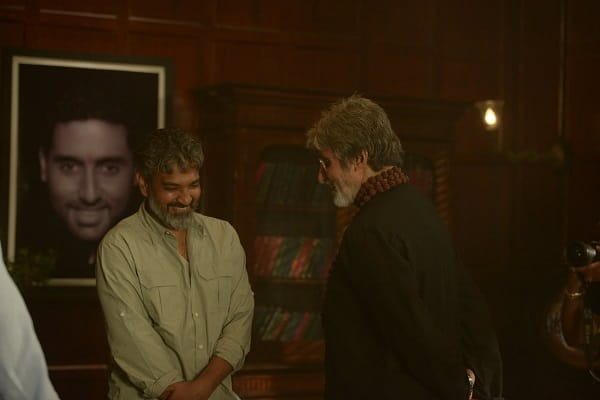 Baahubali director SS Rajamouli and Amitabh Bachchan are bonding big time