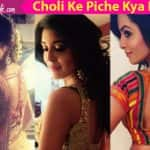 Mouni Roy, Hina Khan, Kritika Kamra's sexy cholis will inspire you this Navratri - view pics!