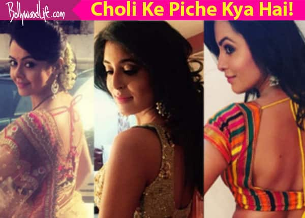 Mouni Roy, Hina Khan, Kritika Kamra's sexy cholis will inspire you this Navratri – view pics!